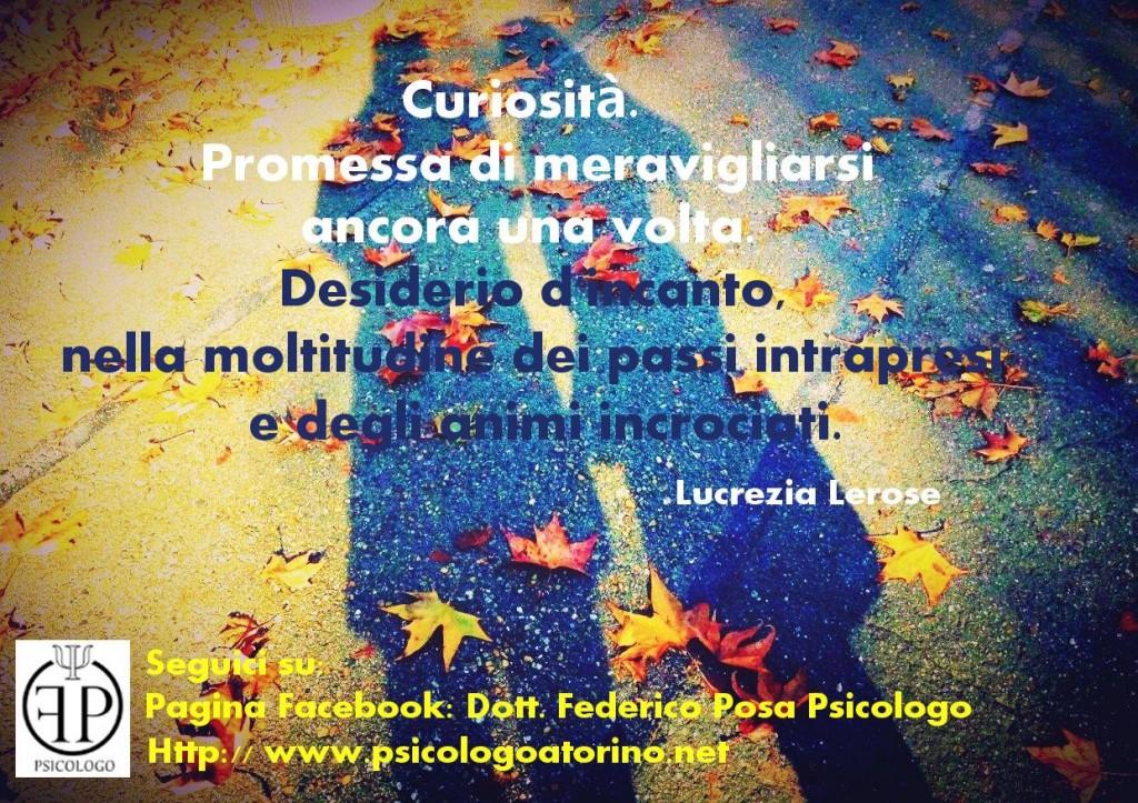 Curiosità Frase Motivazionale