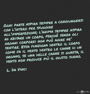 Aforisma di Leonardo da Vinci